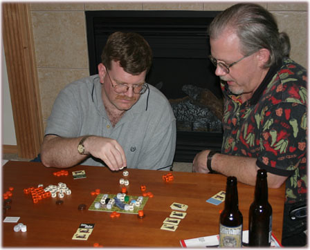 KC and Ken Play RailRoad Dice 2