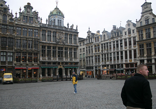 Central Plaza in Brussels