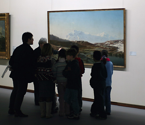 Students and Art